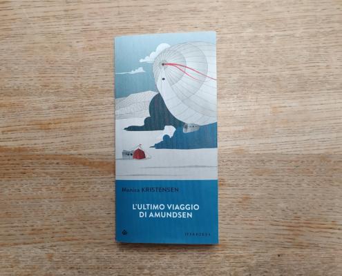 copertina libro L'ultimo viaggio di Amundsen