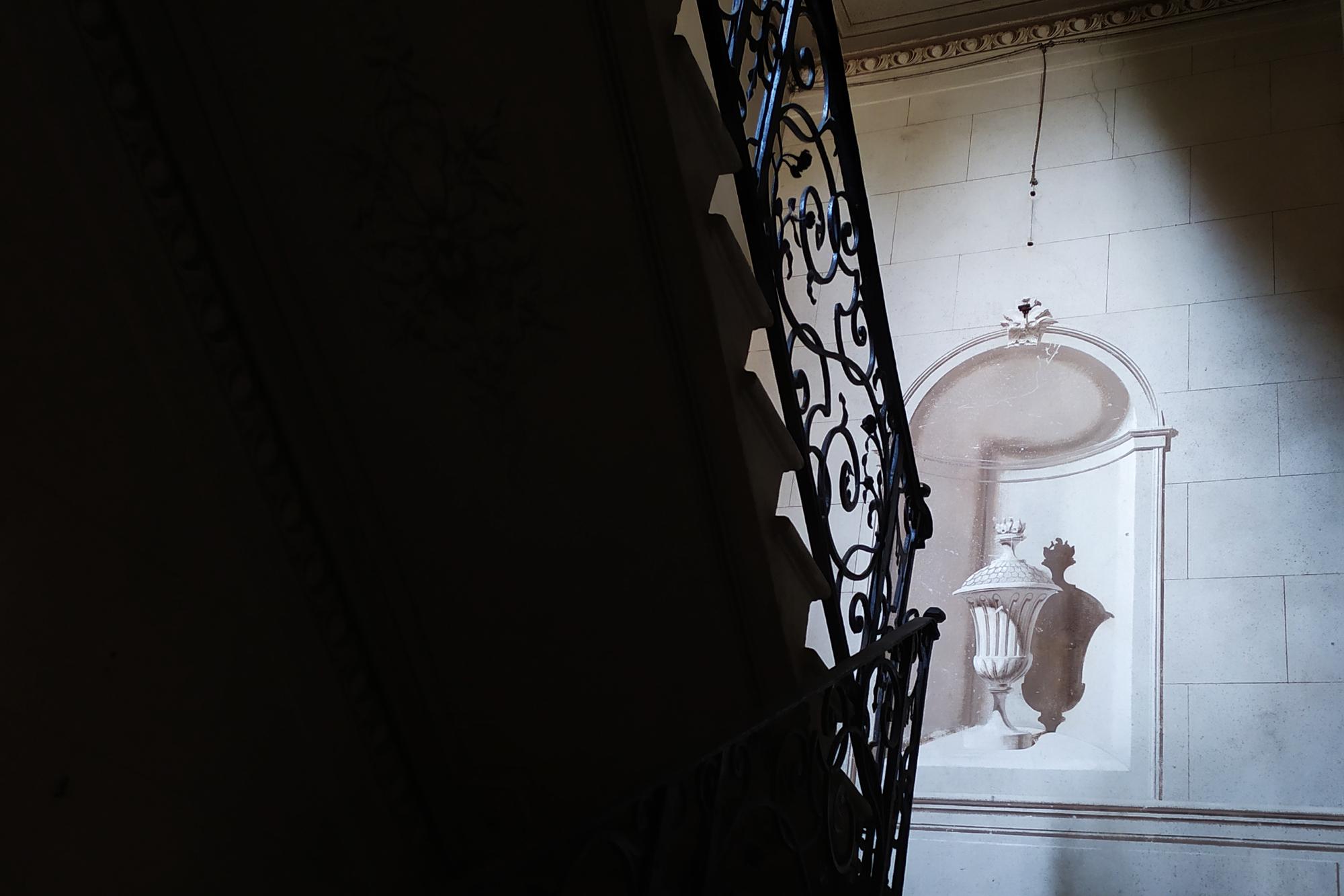 L'interno di villa siotto pintor